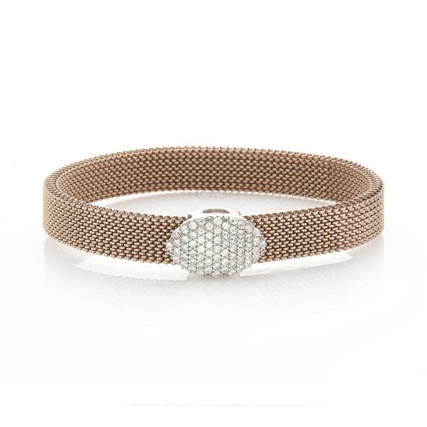 Bracciale-simbolo-ovale-flex-roan-preziosi-gioielli