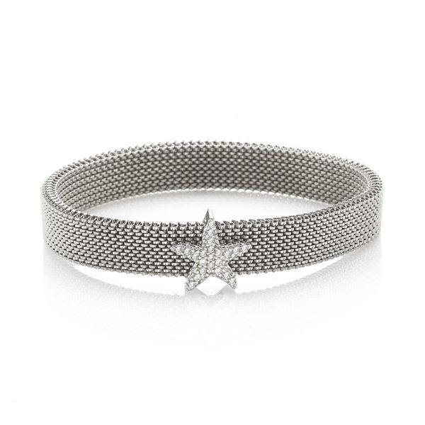Bracciale-simbolo-stella-flex-roan-preziosi-gioielli