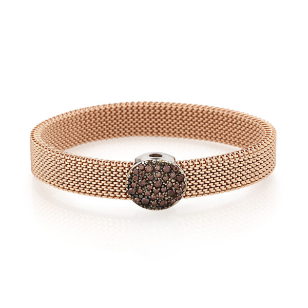 Bracciale-simbolo-cerchio-flex-roan-preziosi-gioielli